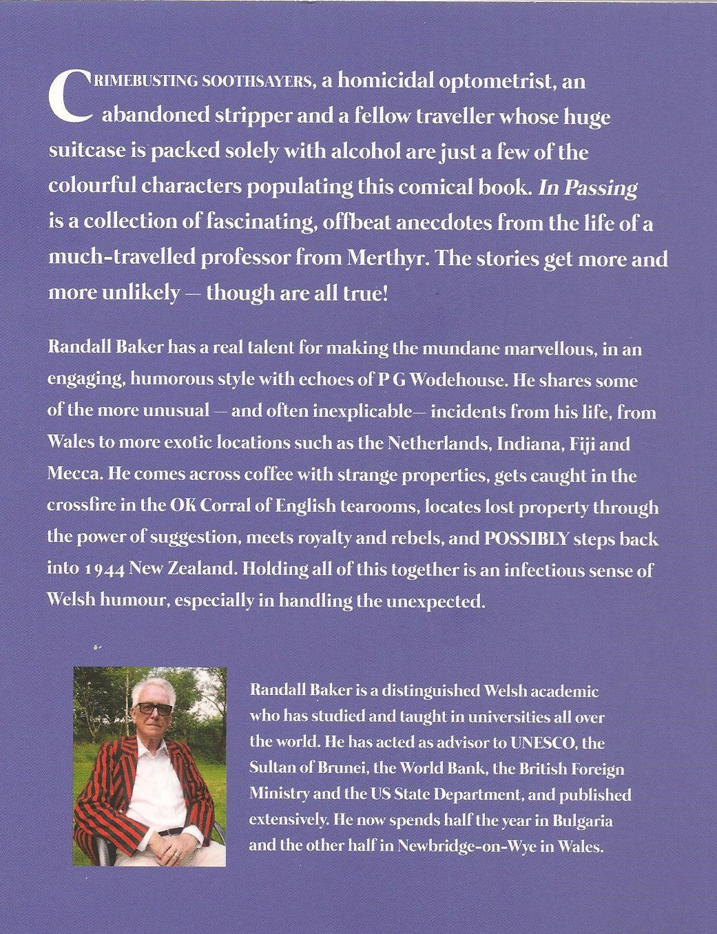 Randall Baker write up